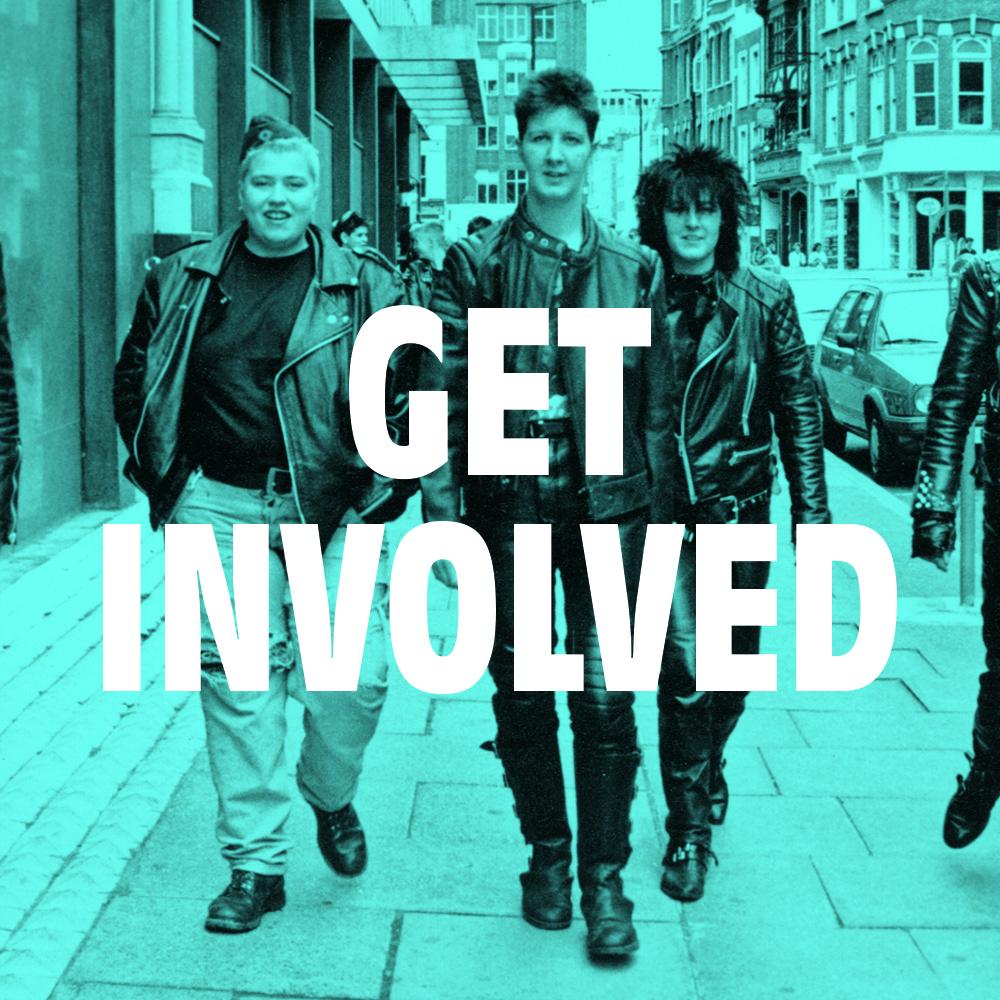 Get involved tile