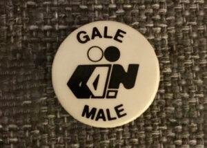 Vintage badge for Nightingale Club