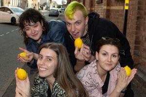 Image of artists who make up Round Lemon